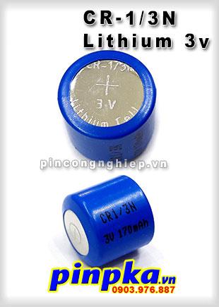 Pin sạc Li-ion CR-1/3N 170mah 3V